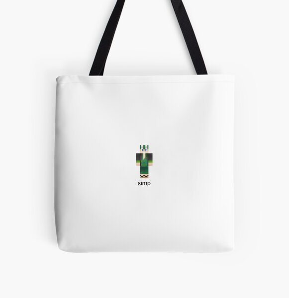 Philza Simp All Over Print Tote Bag RB1106 product Offical Philza Merch