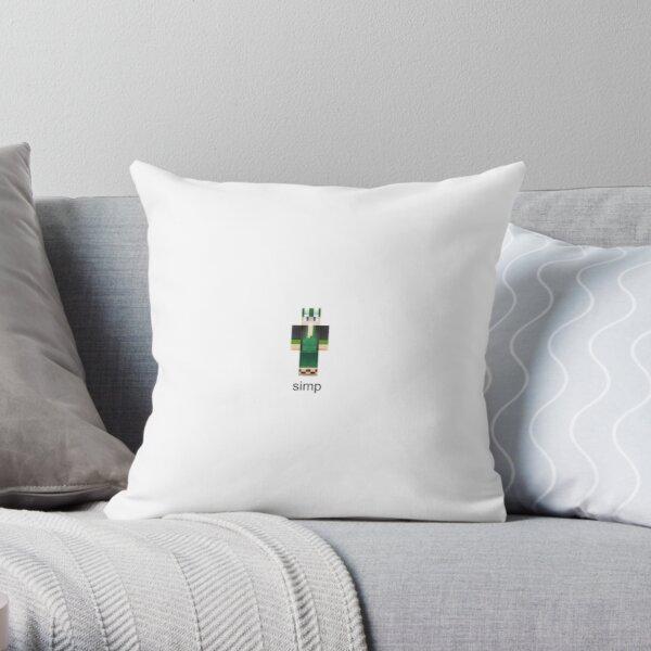 Philza Simp Throw Pillow RB1106 product Offical Philza Merch