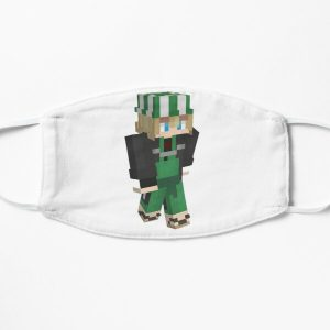 philza funny gamer Flat Mask RB1106 product Offical Philza Merch