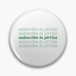 subscribe to philza Pin RB1106 product Offical Philza Merch