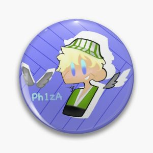 Ph1lzA and elytra Pin RB1106 product Offical Philza Merch