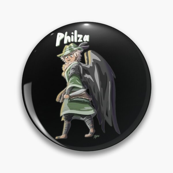Philza Character Dream SMP Art Minecraft Philza Title Pin RB1106 product Offical Philza Merch