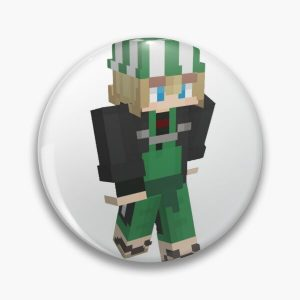 philza funny gamer Pin RB1106 product Offical Philza Merch