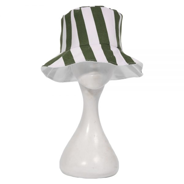 Anime Bleach Urahara Kisuke Cosplay Hat Cap Bucket Hat Green White Striped Men Women Summer Cool 1 - Philza Merch