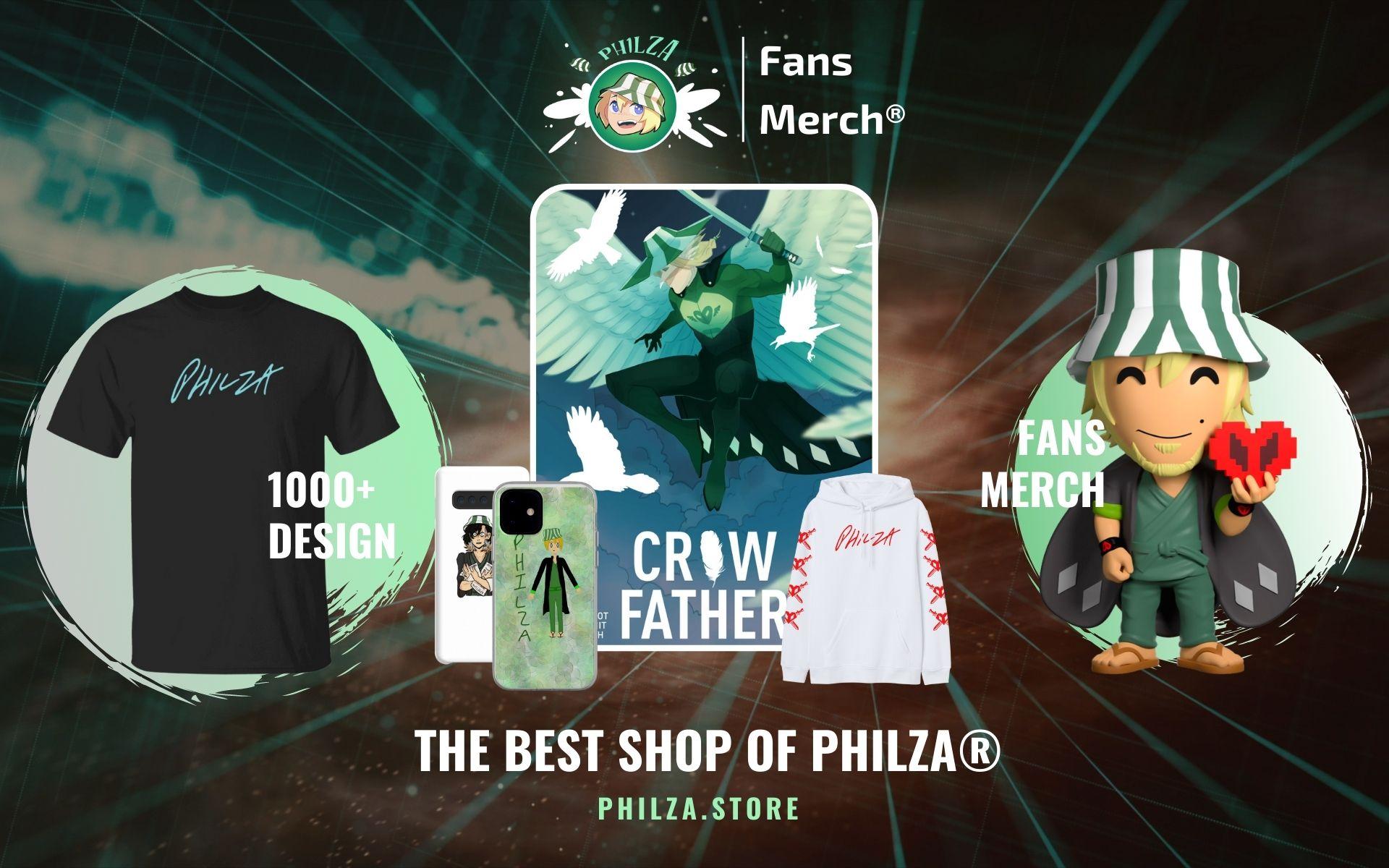 Philza Merch Web Banner - Philza Merch